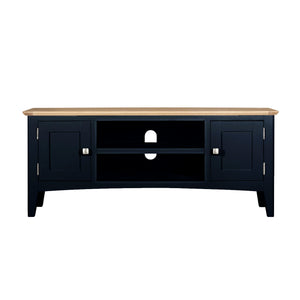 Eva Shaker Oak Large TV Unit - HomePlus Furniture