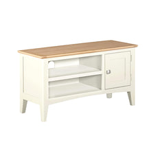 Eva Shaker Oak Small TV Unit Clunch