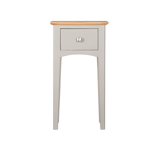 Eva Shaker Oak Telephone Table Charleston Grey