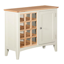 Eva Shaker Oak Wine Cabinet - Eva Shaker Oak - HomePlus Furniture