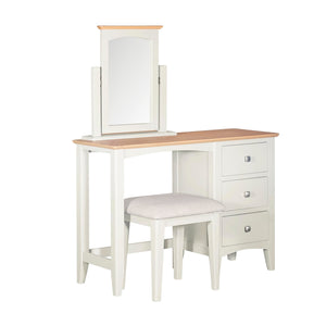 Eva Shaker Oak Dressing Table Clunch