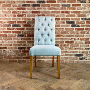 Ella Dining Chair | Duck Egg - HomePlus Furniture