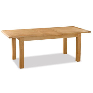 Salisbury Compact Extending Dining Table (1.2 m-1.65 m) - HomePlus Furniture