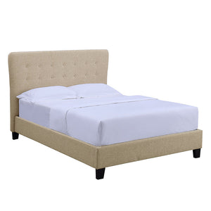 Luther 5ft Kingsize Bed | Cream - HomePlus Furniture