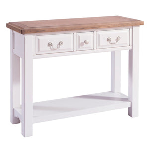 Georgia Grey Painted Oak Console Table