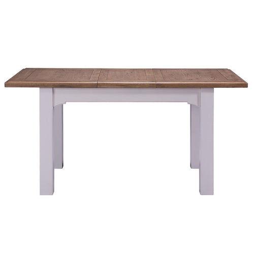 Georgia Grey Painted Oak Extending Dining Table