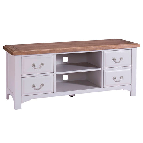 Georgia Grey Painted Oak TV Unit