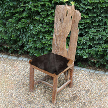 Goatskin Dining Chair - HomePlus Furniture