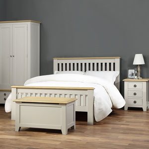 Oxford Painted Oak 3 Over 4 Chest Of Drawers - HomePlus Furniture