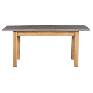 Cromer Extending Dining Table (1.8 m-2.2 m) - Oak, Painted Grey