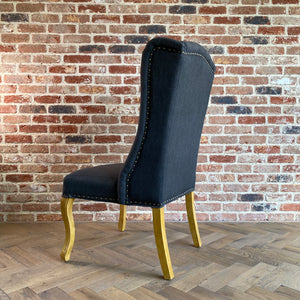 Teresa Dining Chair | Carbon - HomePlus Furniture