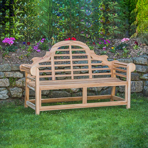 Marlborough Teak Wooden Garden Bench - HomePlus Furniture - HomePlus Furniture