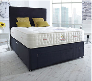 Monarch Divan 4ft 6' Double Bed Set - HomePlus Furniture