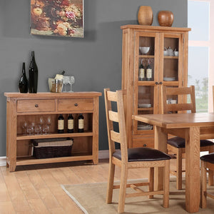 Mini Waxed Canterbury 2 Over 3 Chest Of Drawers - HomePlus Furniture