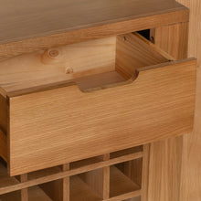 Cambridge Oak Pantry Unit - HomePlus Furniture