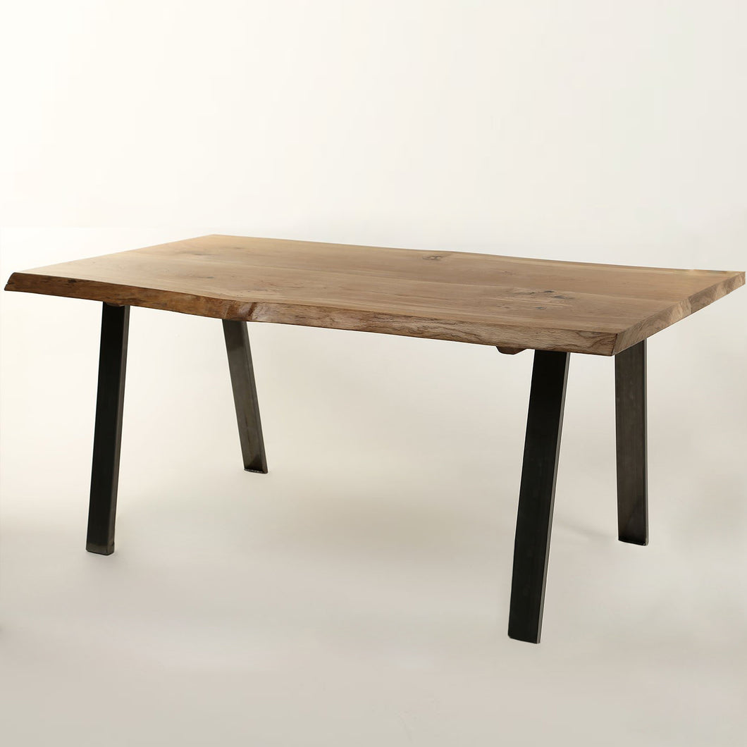 Acacia Live Edge Dining Table (2.0 m) - HomePlus Furniture