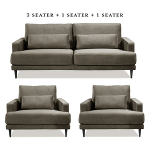 Levantine 3 Seater Sofa - HomePlus Furniture - HomePlus Furniture