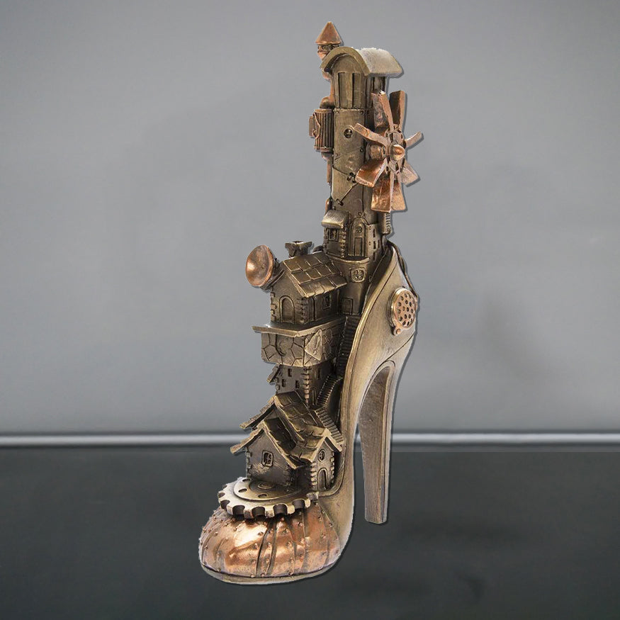 Steampunk High Heel Shoe