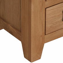 Cambridge Oak 2 Over 4 Chest Of Drawers - HomePlus Furniture