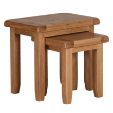 Cambridge Oak Nest of 2 Tables