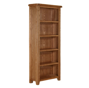 Cambridge Oak Large Bookcase (1.8 m) - Cambridge - HomePlus Furniture