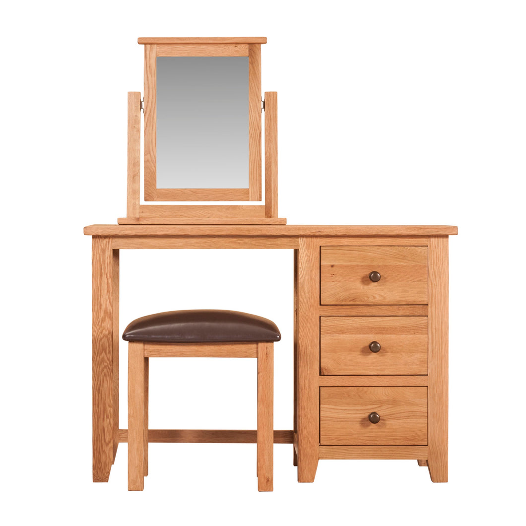 Mini Waxed Canterbury Dressing Table