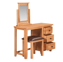 Mini Waxed Canterbury Dressing Table - HomePlus Furniture