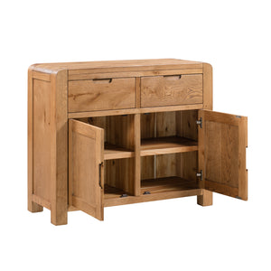 Milan 2 Drawer 2 Door Sideboard - HomePlus Furniture