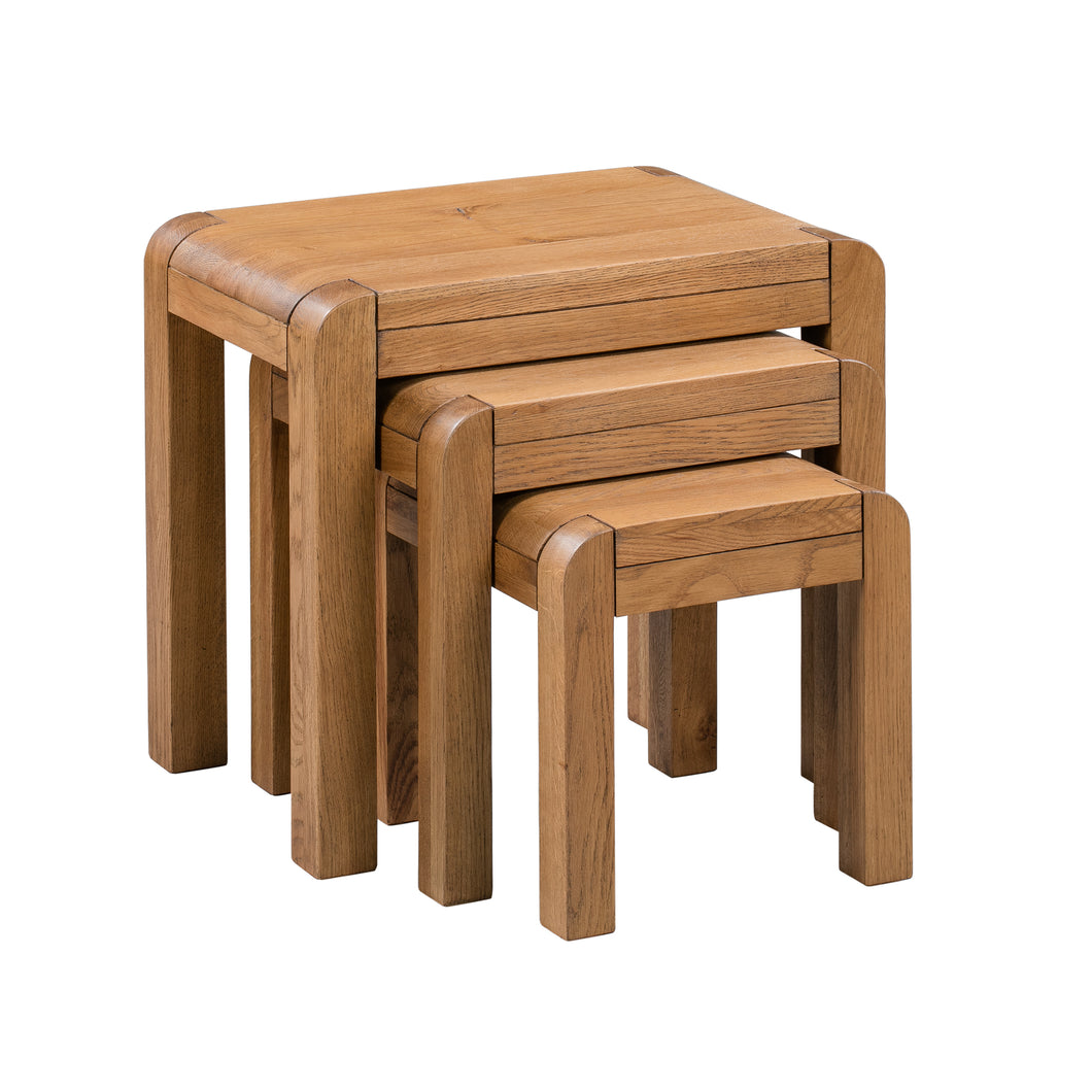Milan Nest of Tables - HomePlus Furniture