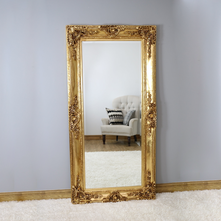 Mayfair Mirror | Antique Gold - HomePlus Furniture