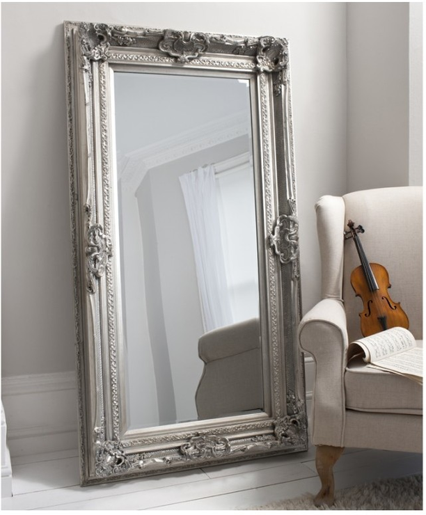Mayfair Mirror | Silver - HomePlus Furniture