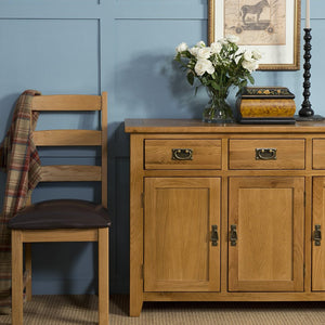 Mini Canterbury Oak 3 Over 4 Wide Chest