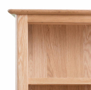 Newtown Small Wide Bookcase (0.9 m) - HomePlus Furniture