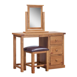 Wellington Pine Dressing Table - HomePlus Furniture
