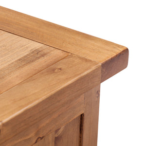 Wellington Pine Blanket Box - HomePlus Furniture