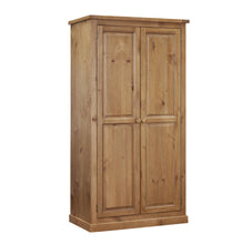 Wellington Pine Full Hanging Wardrobe - Wellington Pine - HomePlus Furniture