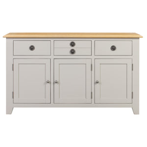 Oxford Painted Oak 3 Door 3 Drawer Sideboard - HomePlus Furniture