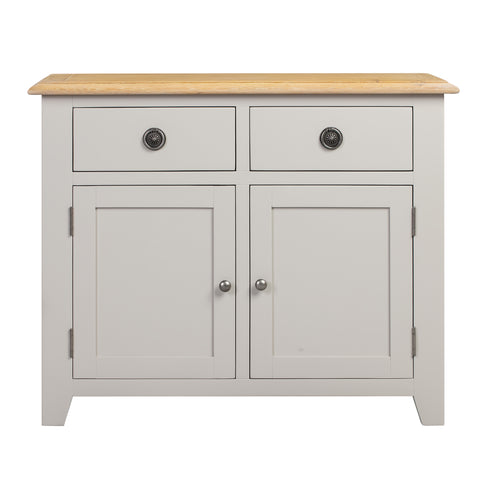 Oxford Painted Oak 2 Door 2 Drawer Sideboard - HomePlus Furniture