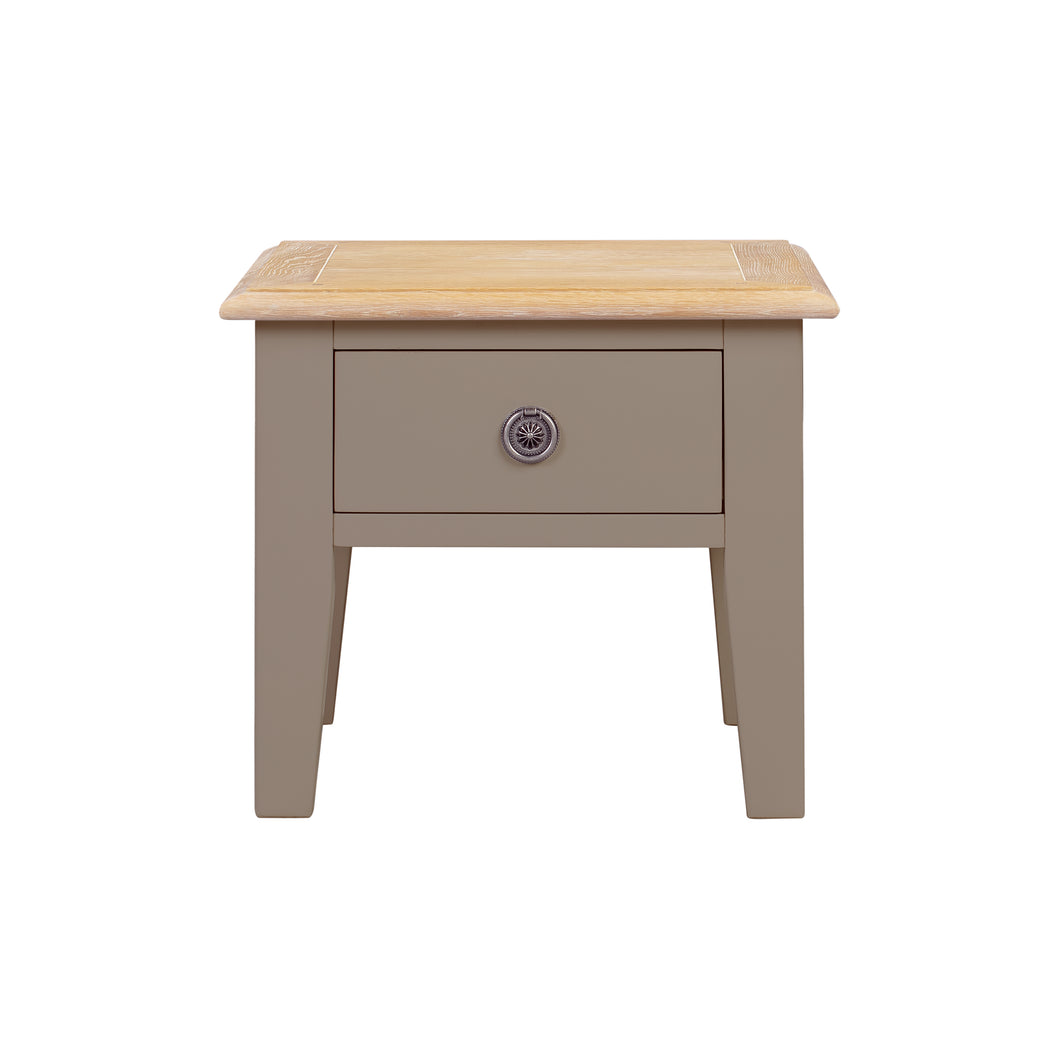 Oxford Painted Oak Lamp Table - HomePlus Furniture