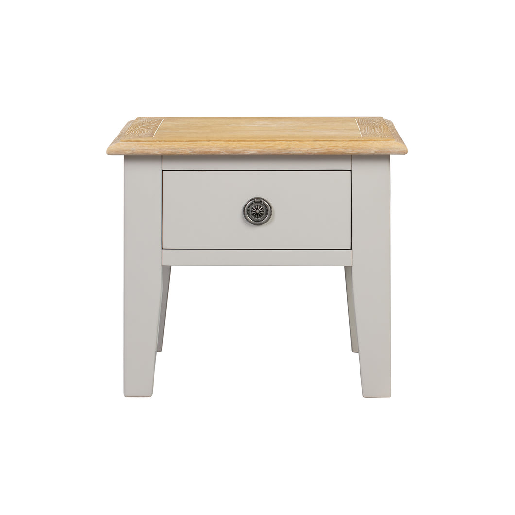 Oxford Painted Oak Lamp Table - Oxford Painted Oak - HomePlus Furniture