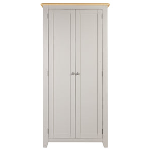 Oxford Painted Oak Full Hanging Wardrobe - HomePlus Furniture