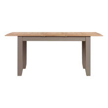 Oxford Painted Oak Small Extending Dining Table (1.2 m- 1.5 m) - HomePlus Furniture
