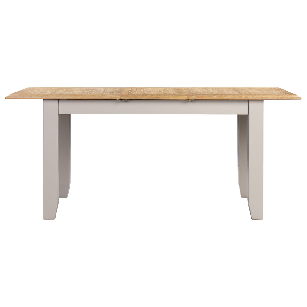 Oxford Painted Oak Small Extending Dining Table (1.2 m- 1.5 m) - Oxford Painted Oak - HomePlus Furniture