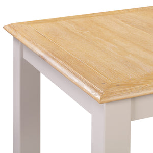 Oxford Painted Oak Medium Extending Dining Table (1.4 m- 1.8 m) - Oxford Painted Oak - HomePlus Furniture