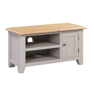 Oxford Painted Oak Small TV Unit - Oxford Painted Oak - HomePlus Furniture