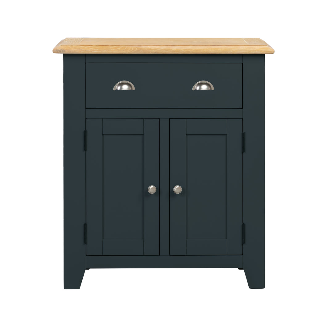 Oxford Painted Oak Small 2 Door 1 Drawer Sideboard - HomePlus Furniture