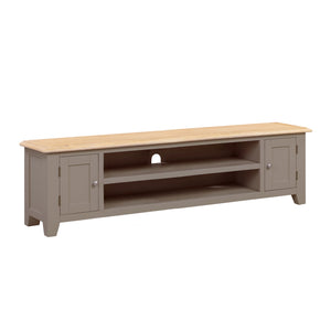 Oxford Painted Oak Extra Large TV Unit - HomePlus Furniture