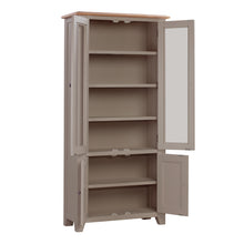 Oxford Painted Oak Display Cabinet - HomePlus Furniture