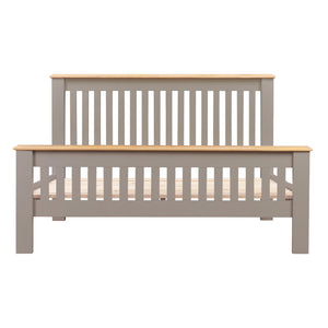 Oxford Painted Oak 5ft Kingsize Bed - HomePlus Furniture