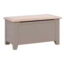 Oxford Painted Oak Blanket Box - HomePlus Furniture